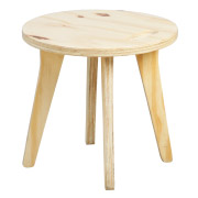 Wooden Eddie Kids Stool