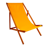 Yellow Deck Chair