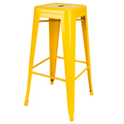 Yellow Xavier Bar Stool