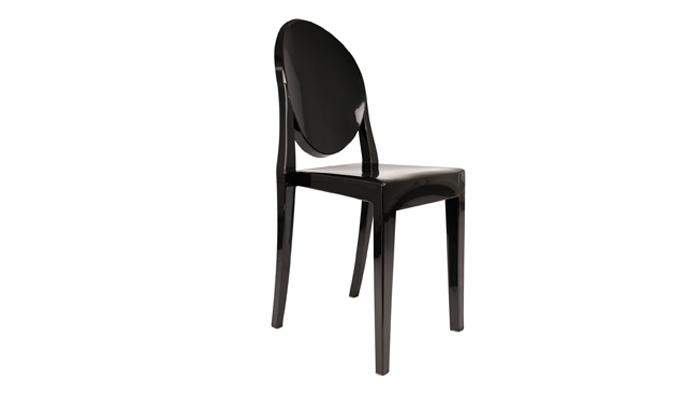 Black Ghost (without Arms) Dining Chairs