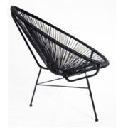 Acapulco Cafe Chair Black