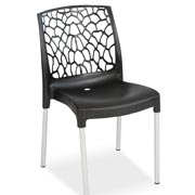 Aracna Side Chair Black