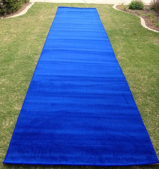 Royal Blue Carpet Runner - Carpet Vidalondon