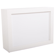 Box Bar Counter White