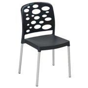 Bubble Cafe Chair Black