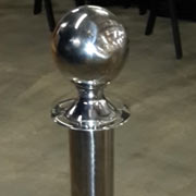 Chrome Stanchions