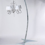 Curved Free Standing Lamp