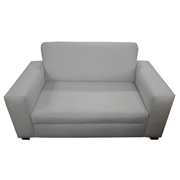 Euro White Double Lounger