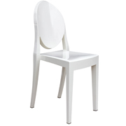 Ghost Cafe Chair White