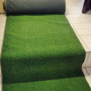 Green Grass Carpet Runner