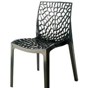 Gruvyer Anthracite Café Chair