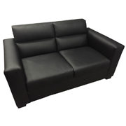 La Scala Black Double Lounger