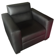 La Scala Black Single Lounger