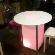 Lumino LED RND Cafe Tables