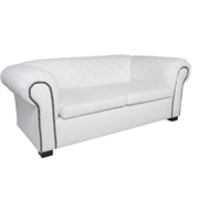 Maddison Double Lounger White