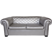 Maddison Double Lounger Silver
