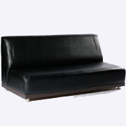 Milky Way Double Lounger Black