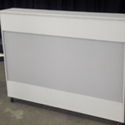 Rectangular Mobile Reception Counter (white)