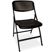 Rocket Folding Cafe Chair Black