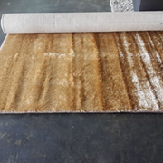Shaggy Rug Gold Plain