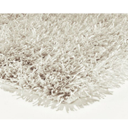 Shaggy Rug White