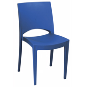 Stella Cafe Chair Royal Blue