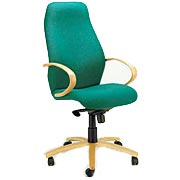 T700 Highback Beech Arm Chair