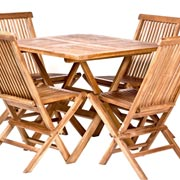 Teak Garden & Chair Set