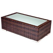 Weaved Wicker Coffee Table