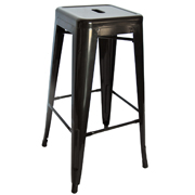 Zavier Bar Stool Black