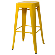 Zavier Bar Stool Yellow