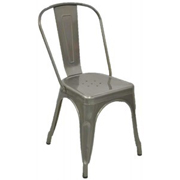 Zavier Cafe Chair Charcoal