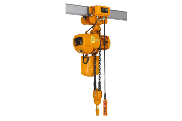 Single speed with electric trolley electric chain hoist for 2 ton hoist with motorized trolley