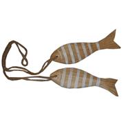 2 Pack Stripey Fish