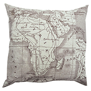 Africa Map Cushion Cover