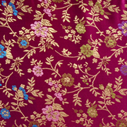 Asian Brocade Purple