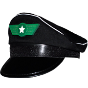 Aviator Hat Black