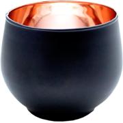 Ball Votive Black and Copper