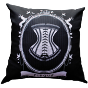 Black Risque Cushion