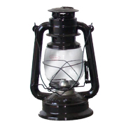 Black Paraffin Lantern