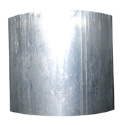 Brushed Stainless Steel Pipe Napkin Band Plain