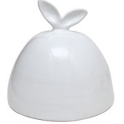 Bunny Ear Cake Dome White