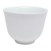 Ceramic Chinese Teacup White