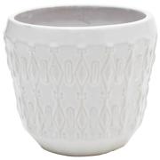 Ceramic Indian Detail Vase Small
