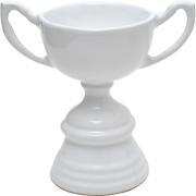Ceramic Trophy White