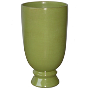 Ceramic Vase with Foot Tall