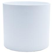 Ceramic Ribbed Cylinder Vase M