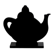 Chalk Board Tea Pot