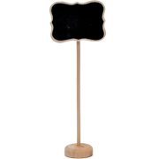 Chalkboard Place Card Tall Rectangle
