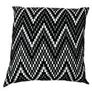 Chevron Chequered Heavy Weave Cushion